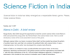 Science Fiction in India