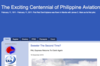 The Exciting Centennial of Philippine Aviation