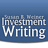 Susan Weiner's Blog on Investment Writing