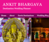 Ankit.in : Destination Wedding Planner