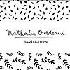Nathalie Ouederni   Watercolor Illustration & Pattern design