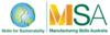 MSA | Manufacturing Skills Australia | Skiils for Sustainability