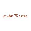 studio 78 notes