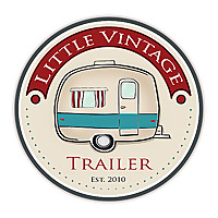 Little Vintage Trailer by Kelle Arvay