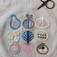 Karen Barbé Embroidery Workshop