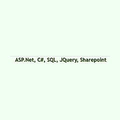 Dotnetguts - ASP.Net, C#, SQL, JQuery
