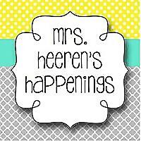Mrs. Heeren's Happenings