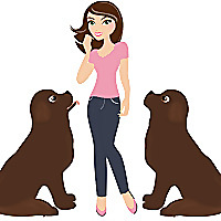 My Brown Newfies | Pet Personal Blog