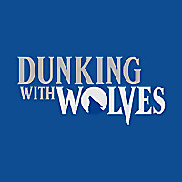 Dunking with Wolves Minnesota Timberwolves
