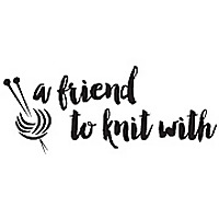 A Friend to knit with by Leslie