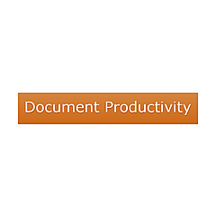 Document Productivity By Martin Coomber