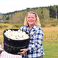 Country Living and Garlic Farming in BC
