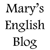 Mary's English Blog