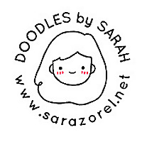 Doodles by Sarah Sarazorel