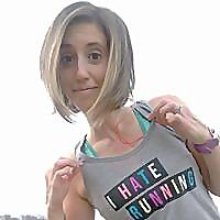 Sparkly Runner | Sarah