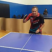 Table Tennis by Gary Fraiman