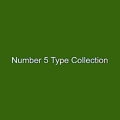 Number 5 Type Collection