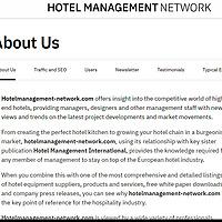 Hotel Management Network
