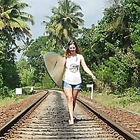 A Broad on a Board