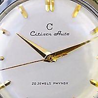 Sweephand's Vintage Citizen Watch Blog