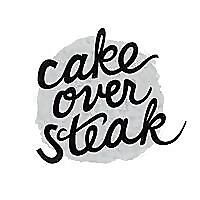 Cake Over Steak