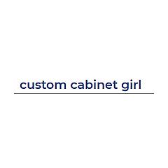 custom cabinet girl