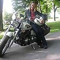 Motorcycle Touring - Riding on my V Star
