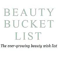 Beauty Bucket List