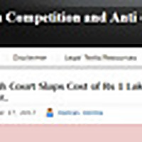 Indian Competition and Anti Trust Blog