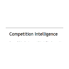 Competition Intelligence