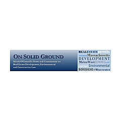 On Solid Ground: The Mirick Real Estate Law Blog