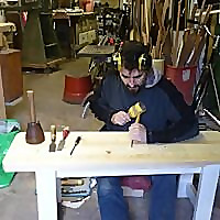 Woodcarving with Dan