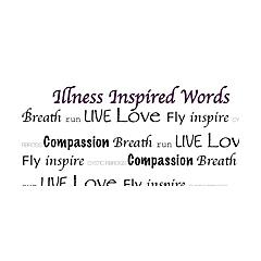 Illness Inspired Words