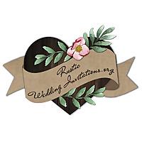 Unique Rustic Wedding Invitations