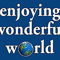 enjoying wonderful world