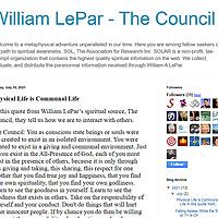 William LePar - The Council