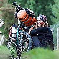Pushbikegirl   Solo female cycling around the world