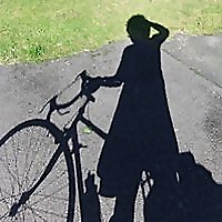 Cycling in a skirt
