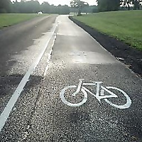 Exploring by bicycle