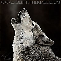Pet Portraits and Wildlife Art by Canadian Nature and Animal Artist Colette Theriault