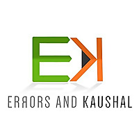 Errors And Kaushal | Book Review Blog