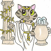 Athena Cat Goddess Wise Kitty   Some Cat Goddess Wisdom and Life with a Creative Mum