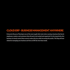Cloud ERP Blog | Business Management Anywhere