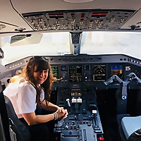 Her pilot eyes