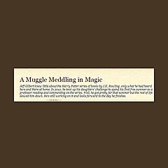 A Muggle Meddling in Magic