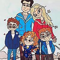 An Ordinary Family of 5