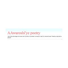 AA Wuroshi'ye poetry