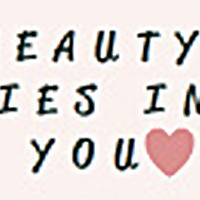 Beauty lies in you