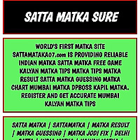 Satta Matka Tips