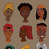 African Beauty And Braids
